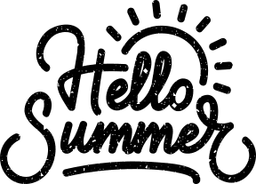 badge hello summer